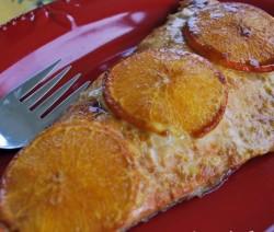 Losos u sosu od pomorandže