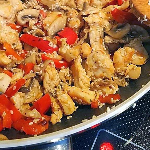 Piletina sa susamom