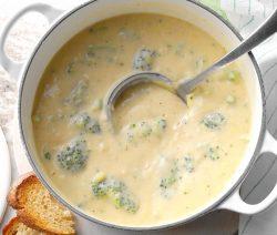 Čedar supa sa brokolijem